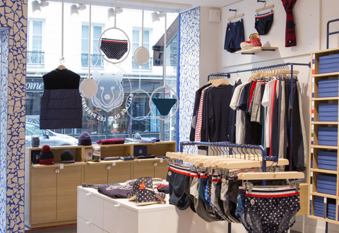 Le Slip Français adopts Pay by link to strengthen distancing in stores
